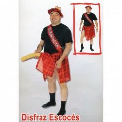 DISFRAZ ESCOCES SEXY