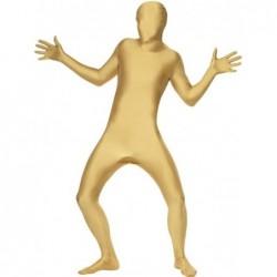 disfraz segunda piel oro