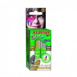 Gliter stick 2 unids. oro /...